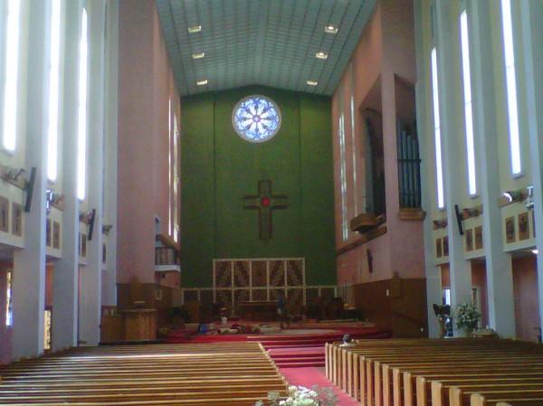 East Window, Waiapu Anglican Cathedral (St John's), Napier