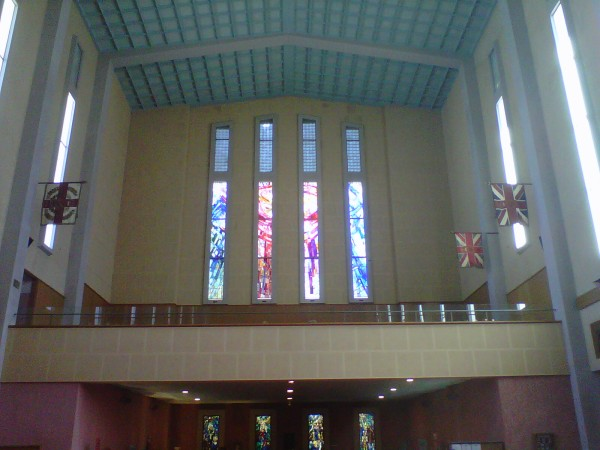 West Window, Waiapu Anglican Cathedral (St John's), Napier