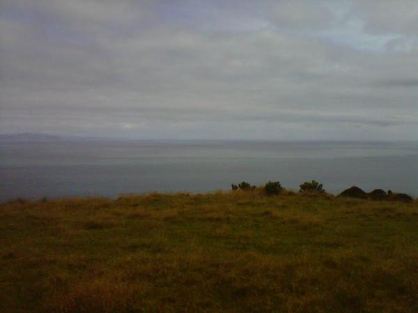 Cook Strait from the Makara gun emplacements