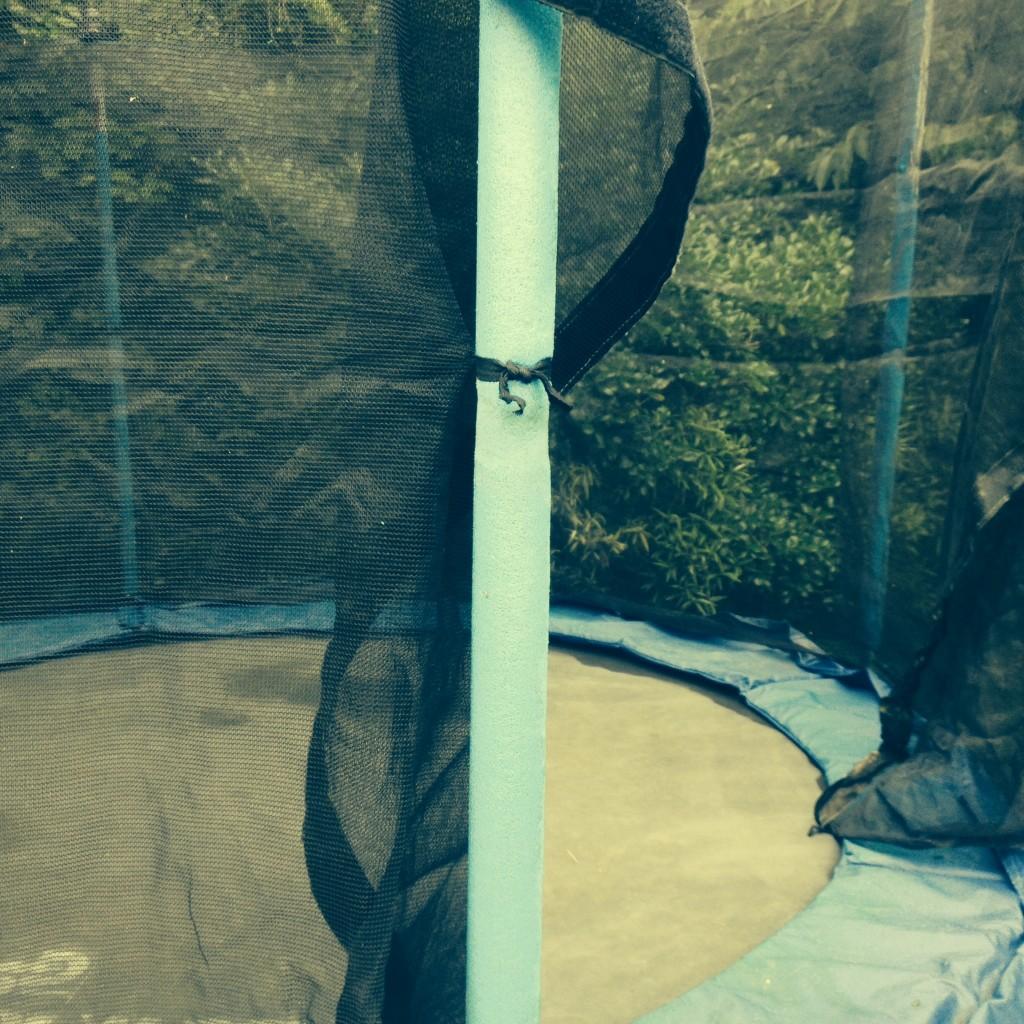 Secondhand trampoline