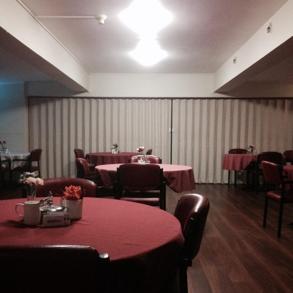 Dining room, Vincentian resthome