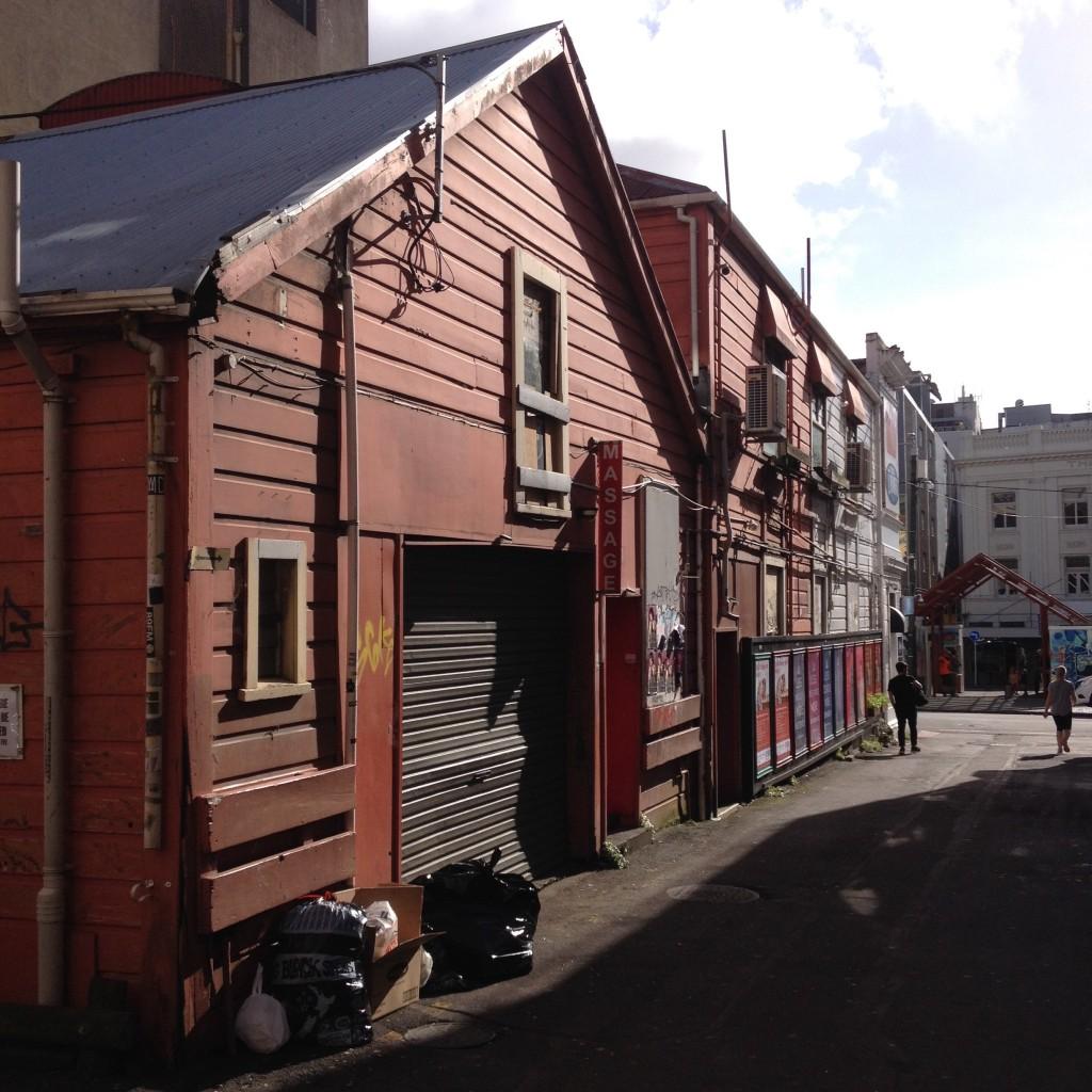 Massage, Eva Street, Wellington